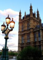 London, May 2013, Houses of Parliament by MorgainePendragon