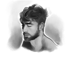Portrait Study 1 by Rejuch