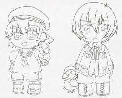 APH - Sealand and Iceland by Misaki-chama
