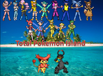 Total Pokemon Island Humanized cast by SusanLucarioFan16