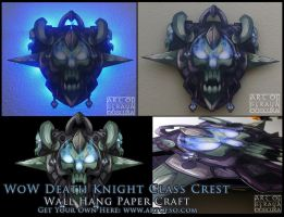WoW Class Crest: Death Knight by StrayaObscura