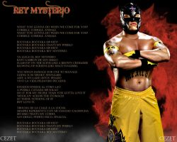 Rey Mysterio WWE wallpaper by Cezet