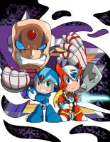 Megaman X Powered Up by MagicalMelonBall