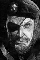 MGS Peace Walker - Big Boss by BorisKoci