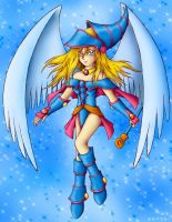 Winged Dark Magician Girl by TeraMaster