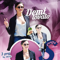 PNG PACK (154) Demi Lovato by DenizBas