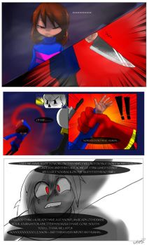 Undertale - Thats not nice -PG 2 by KattSpace