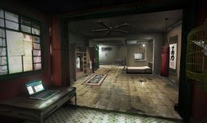 Sleeping Dogs - North Point Safehouse interior #2 by Kuren