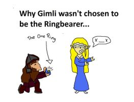 Why Gimli wasn't chosen... by maleth