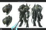 arbiter concept art for halo wars by Xytan-Vadamai