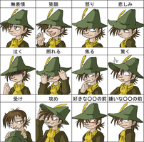Pixiv Meme - Snufkin by Genolover