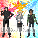 Pokemon GO and Grand SeVen by Lazy-Gamer