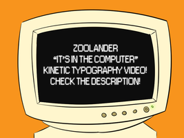 Zoolander - Kinetic Typography by Derkasnake