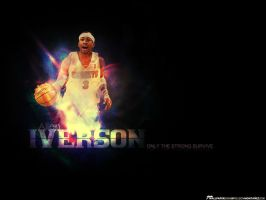 King Iverson by elmoye