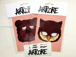 bear'n owl fanpack by artcoreillustrations