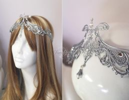Princess Zelda Wedding Crown by Lillyxandra