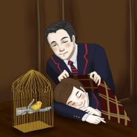 Klaine - Baby it's cold inside by Murraycita