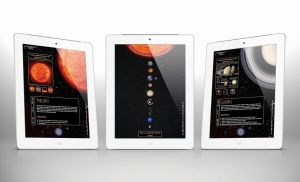 Solar System Ipad App Mock Up by nenglehardt