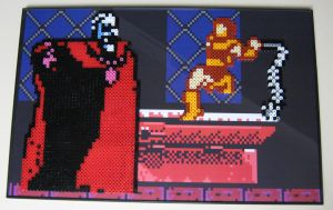 Perler Castlevania Boss Fight by Dlugo1975