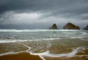 Oregon Coast by Latefor