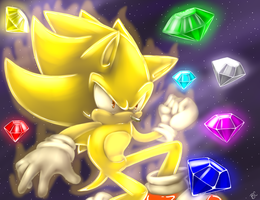 .:Super Sonic:. by Blue-Chica
