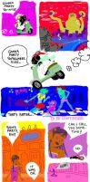 Moped Cow 1-4 by donteatthefish