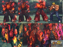 Ultra Evil Ryu pack by monkeygigabuster