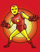 Ironman HeroTOON by AlanSchell