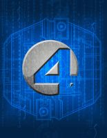 fantastic four logo by BlindAcolyte
