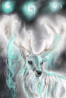 The white stag by ghostwolfen