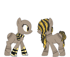 Hipster Bee Pone Adopt {closed} by Neppy-the-kit