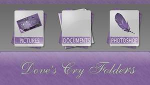 Doves Cry Folders by Satans-Child