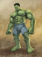 The Hulk -2 by barneybluepants