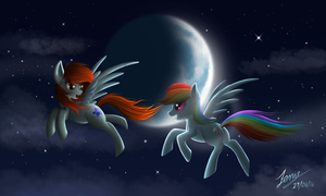 A Night Flight by Duskie-06