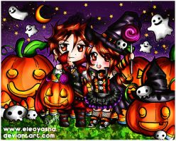 Happy Halloween 2014 by eleoyasha