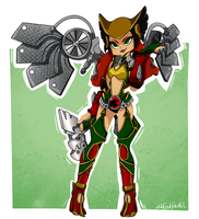 Collectibles Series: Ame Comi Hawkgirl V.2 by alfalfadil
