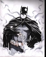 Smokey Batman by magneticrain