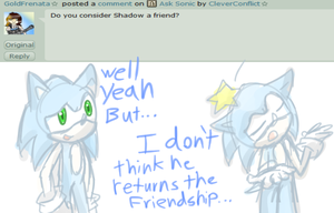 Do you consider Shadow a friend by CleverConflict