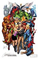 Stan Lee Marvel Tribute by ToolKitten