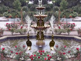 Birds of Paradise Fountain by 3punkins