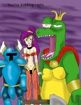 K Rool, Shantae and Shovel knight are not amused by kingofthedededes73