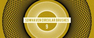 Photoshop Circular Brushes by sdwhaven