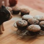 muffin with blueberries by lesyakikh