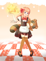 Maid Chiyo by griff-chii