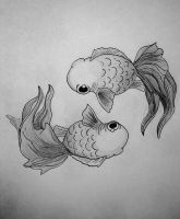 Cute Double Koi design by xLeanne-Elizabethx