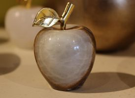 Golden Apple from 10,000 Villages, Redondo Beach by Peaches614