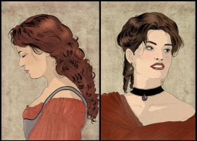 Constance and Milady by Autumn-Sacura