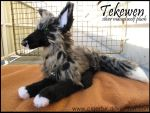 Tekewen plush by Phoeline