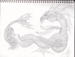 Creatures of the sea by Somnium-Draco