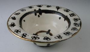 black and white bowl by ghostgray